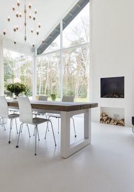 EPI Superbase White Sensation Fireplace