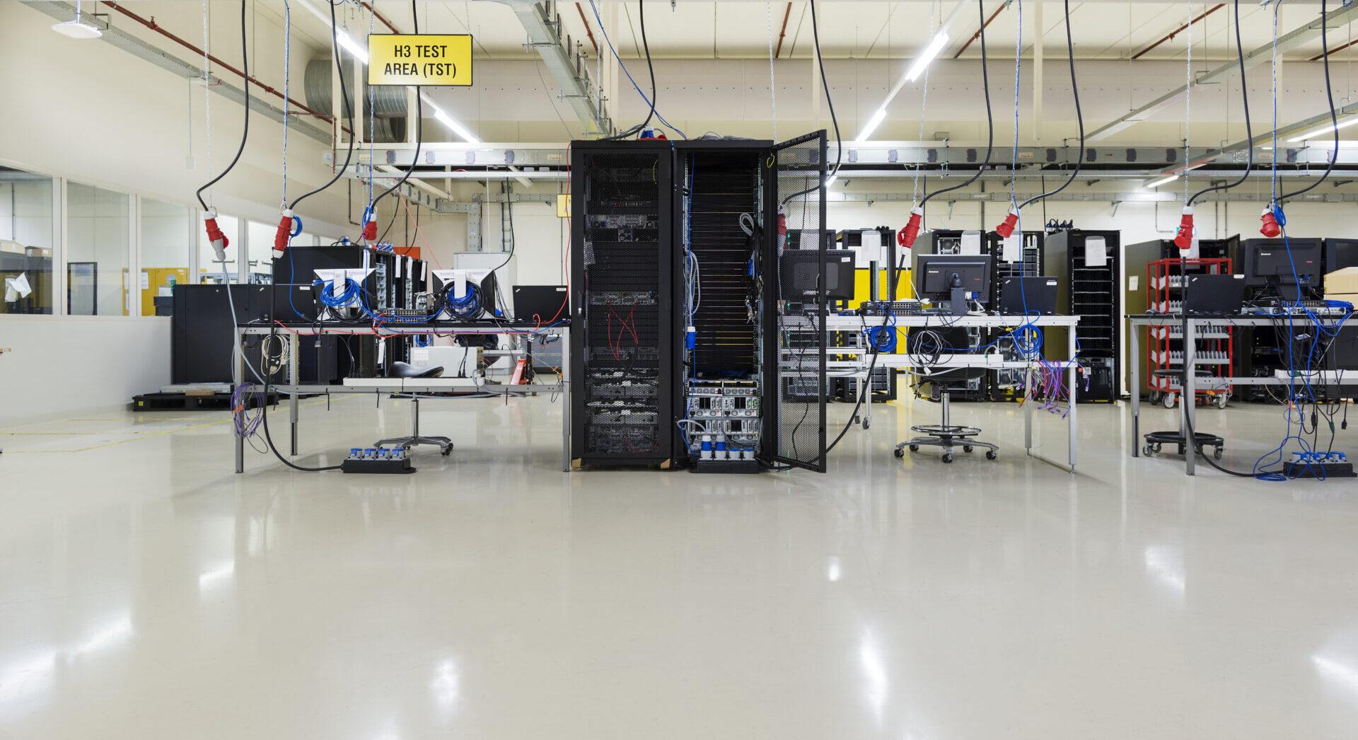 EPI ESD gietvloeren en -coatings cleanroom