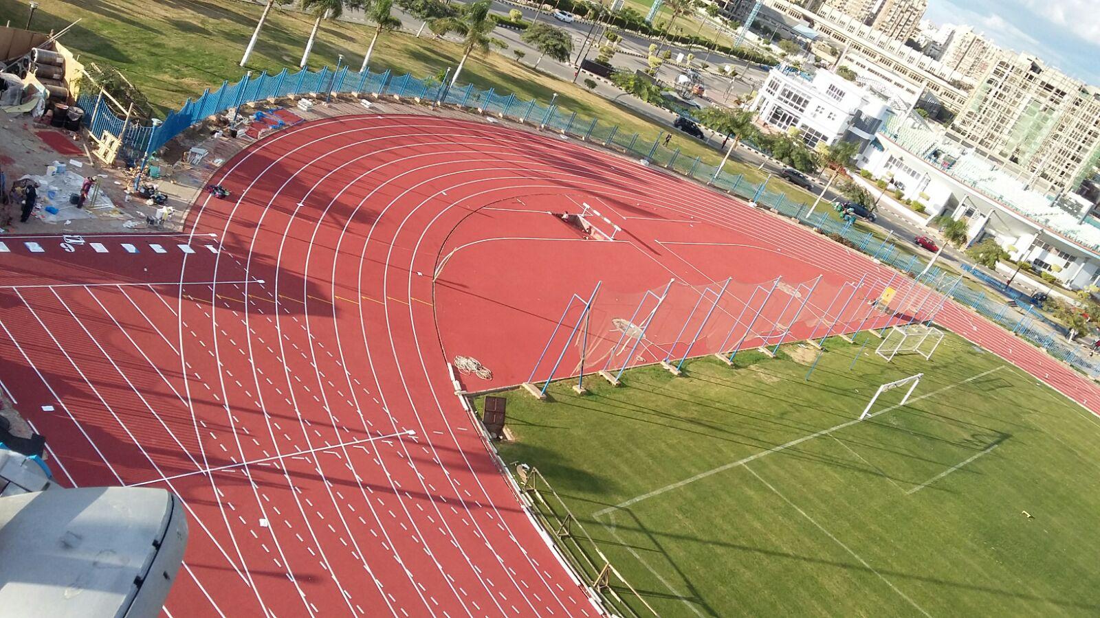EPI Track SW Atletiekbaan red